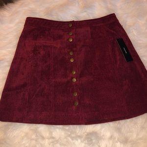 Lulu's Made With Moxie Corduroy Mini Skirt